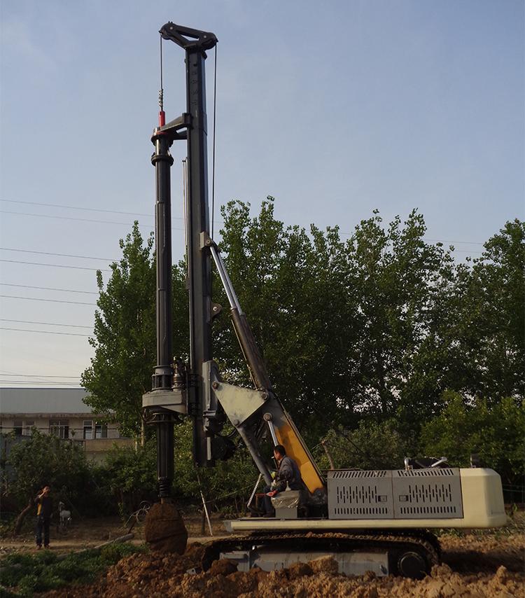 小型旋挖钻机生产阶段