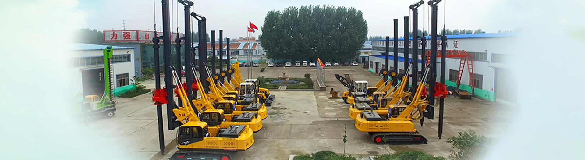 山东滕州旋挖机厂家生产的小型旋挖钻机出口20多个国家和地区