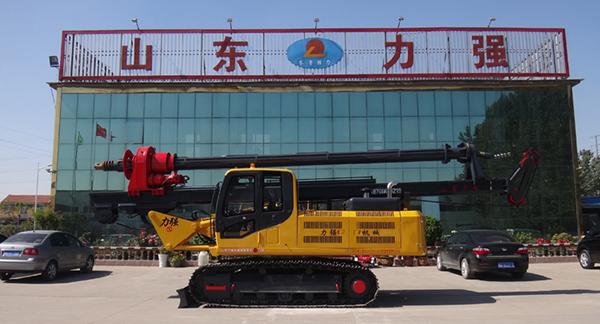 山东力强机械有限责任公司生产的机锁杆旋挖钻机图片