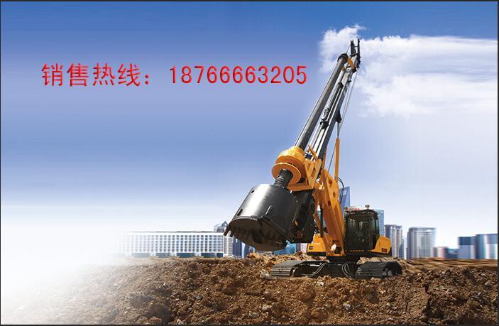 大型旋挖机施工图片展示