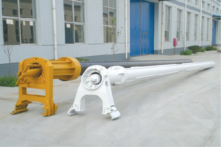不同种类的旋挖钻机钻杆的外形图片展示