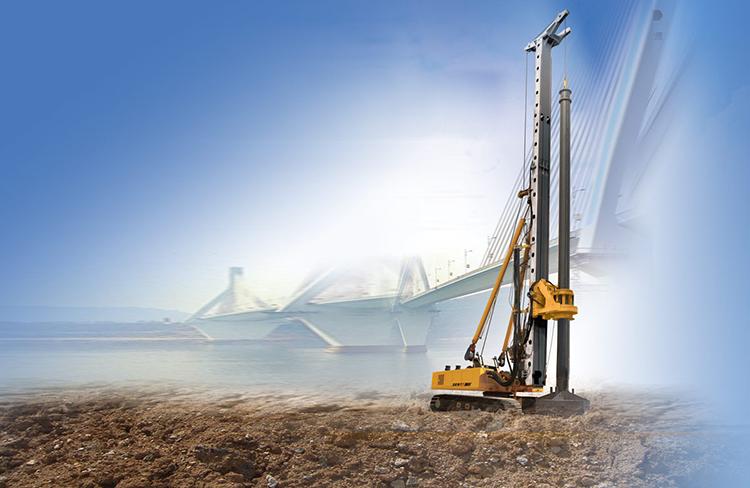 山东滕州旋挖机厂家生产的小型旋挖钻机图片