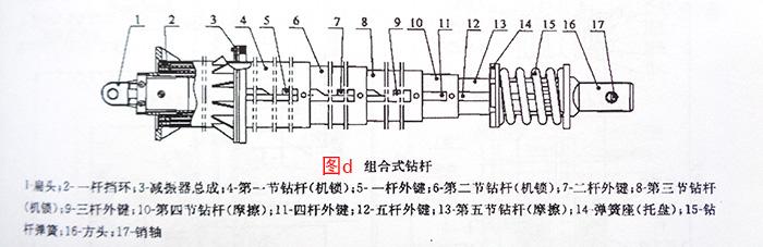 组合式钻杆结构图