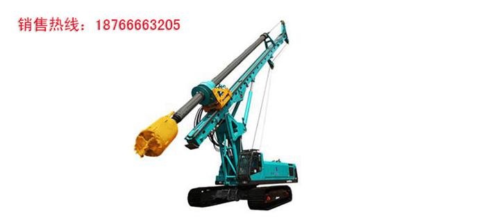 旋挖钻机合理的选择螺旋钻头才能提高工作效率
