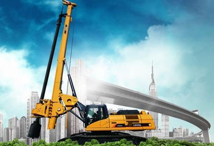 履带式旋挖钻机将是旋挖机的发展趋势
