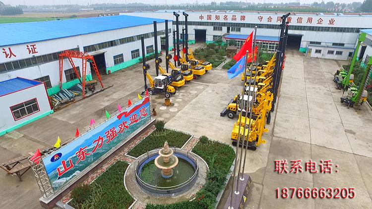 山东滕州小型旋挖机厂家图片