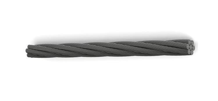 旋挖钻机钢丝绳图片