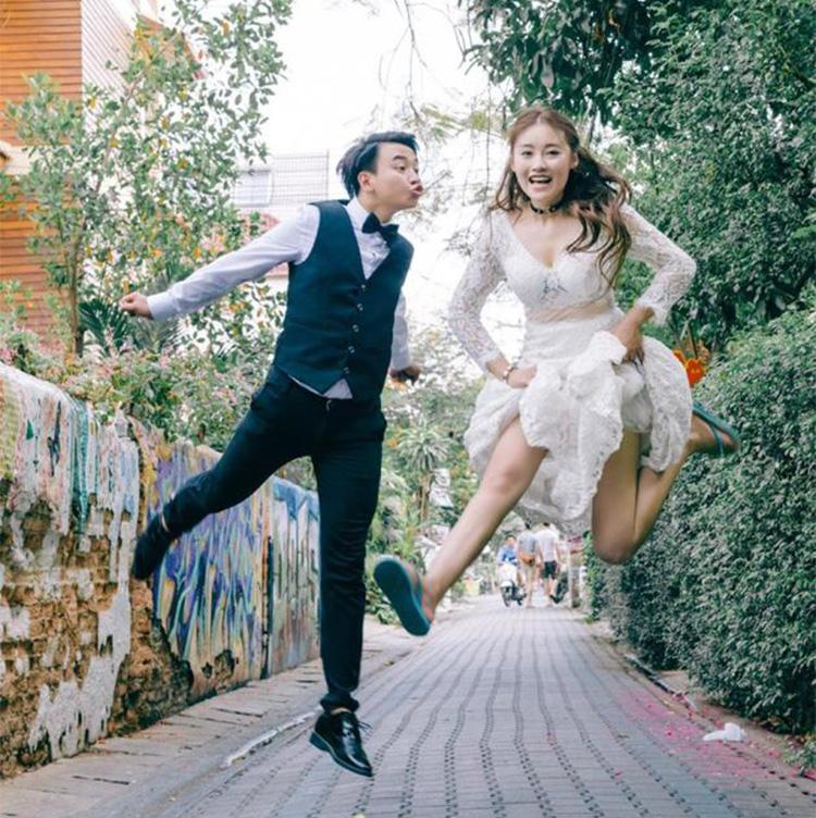 腿腿刘洁结婚照
