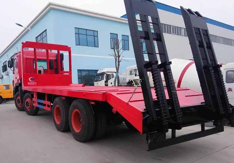 正规厂家生产的旋挖钻机平板运输车