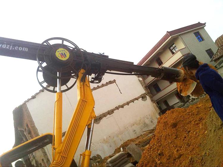 旋挖钻机性能的检测场景