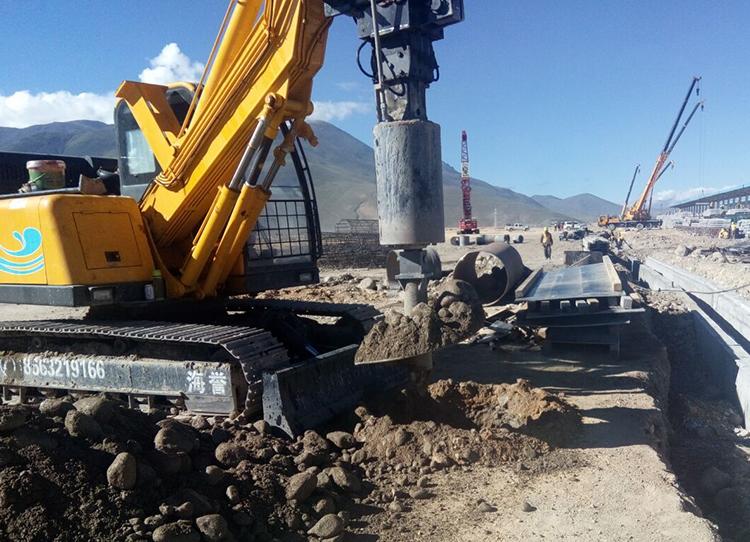 旋挖钻机施工现场