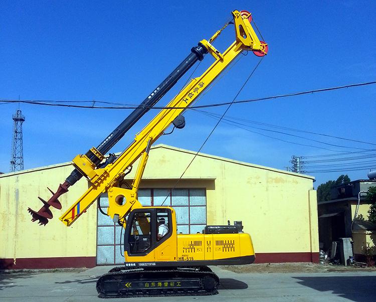 生产厂家对旋挖机操作注意事项讲解图片