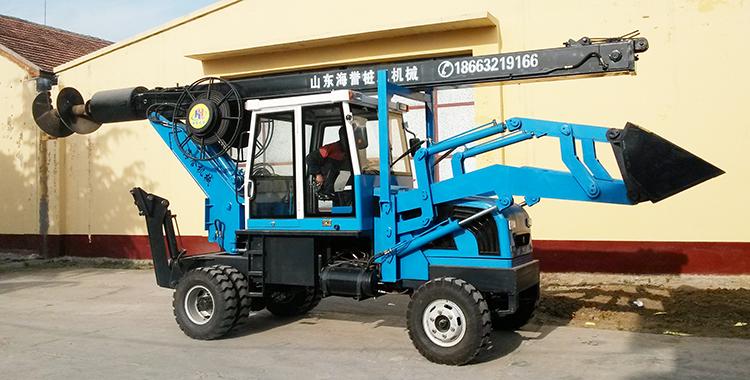 欢迎您来滕州购买多功能旋挖装载一体机