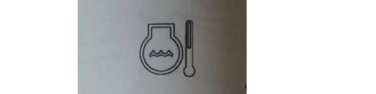 旋挖机水温指示仪表图标