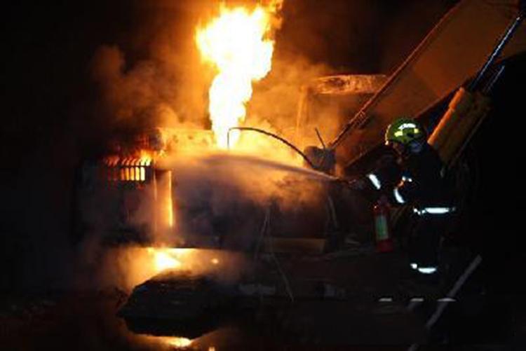 旋挖机火灾事故