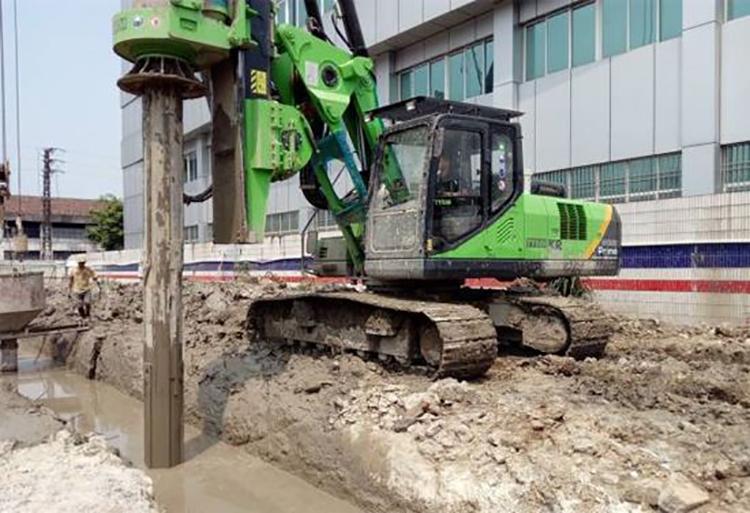 旋挖机在淤泥地层施工要有一定的操作技巧