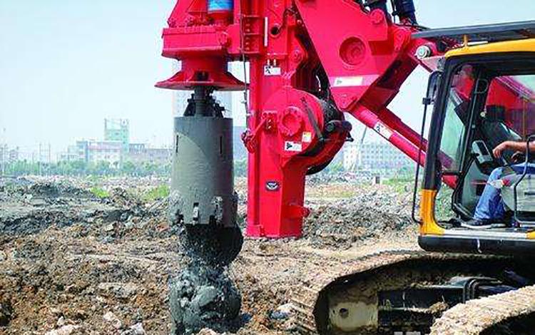 旋挖机在淤泥地层施工要选择合适的工法