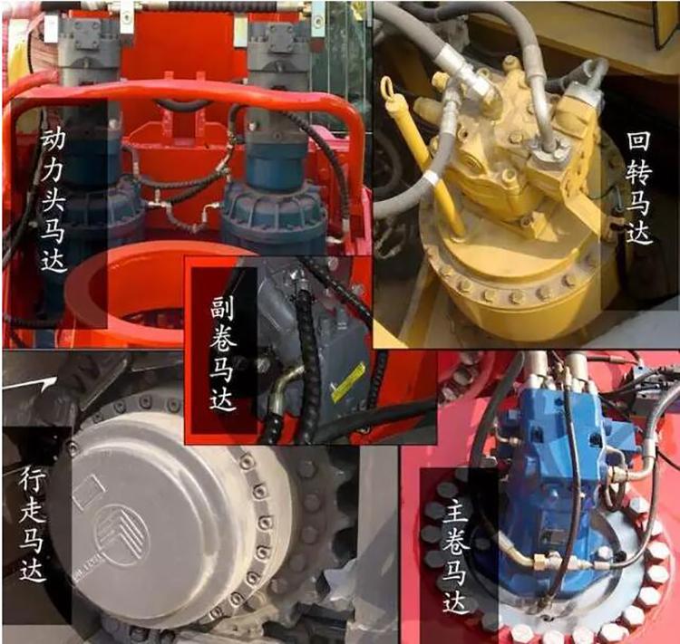 旋挖钻机液压系统图片